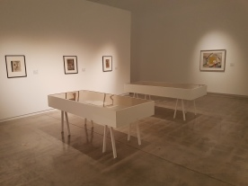 Installation view of 'On an Island'